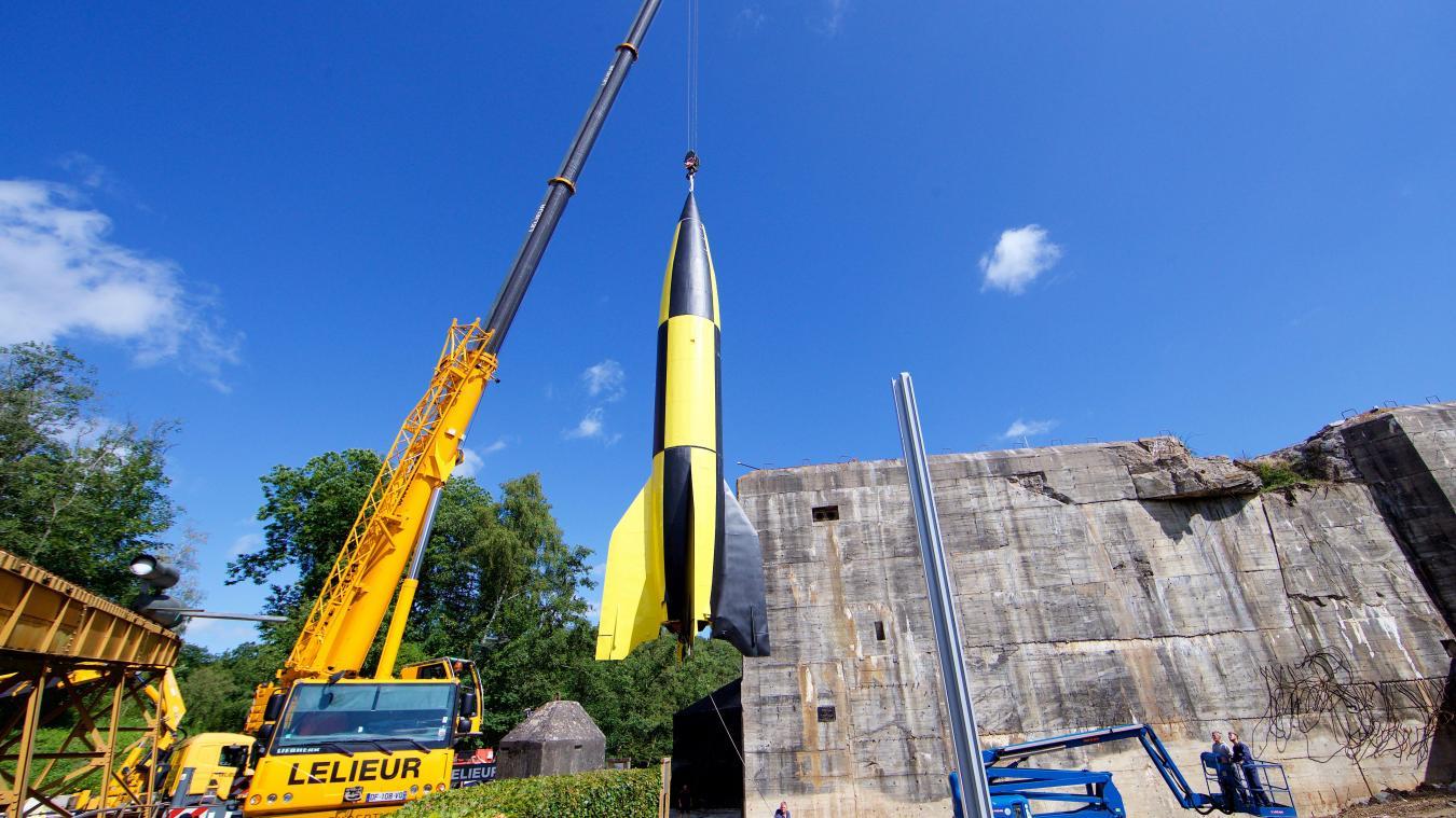 Levage missile factice dans la région de Saint-Omer