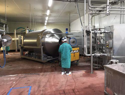 Déplacement d'outils de production en usine agroalimentaire