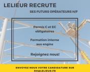 Lelieur recrute ses futurs opérateurs
