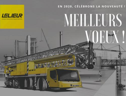 L'équipe Lelieur-Levage vous souhaite ses meilleurs voeux!