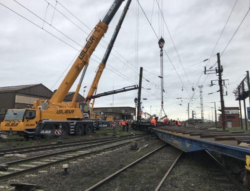 Réactivité et disponibilité de nos équipes pour une opération ferroviaire urgente