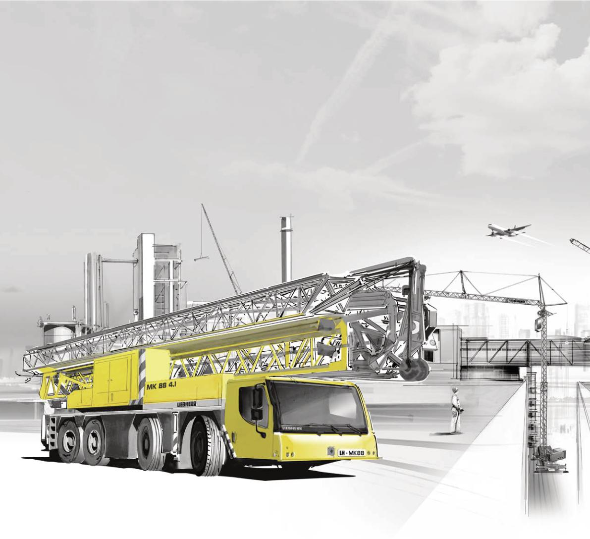Lelieur-Levage vient enrichir son parc machines avec la grue de construction MK88 disponible fin février 2020