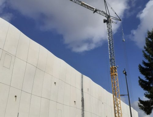 Chantier Lillenium, futur centre commercial, pour notre MK88