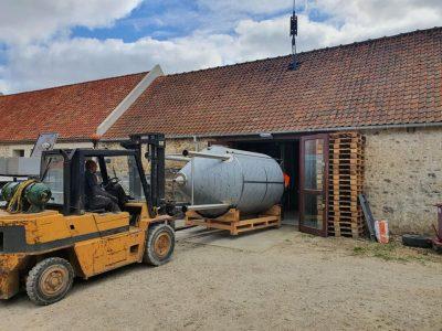 Mise en place d'un fermenteur agroalimentaire au sein d'une célèbre brasserie du Pas-de-Calais dans les Hauts-de-France