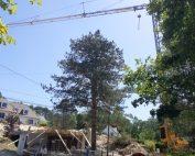 Pose de pré-dalles pour une construction particulière à Hardelot Plage dans le Pas-de-Calais (Hauts-de-France)