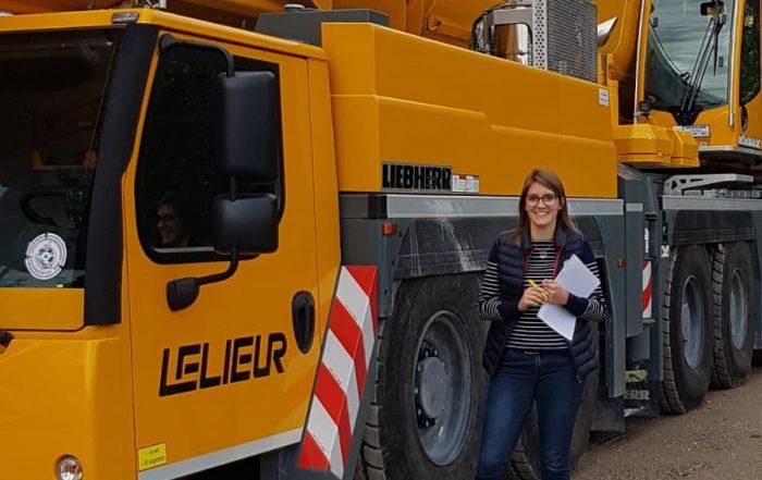 Intégration étudiant en alternance service exploitation levage et manutention chez Lelieur-Levage à Guînes dans le Calaisis (Pas-de-Calais)