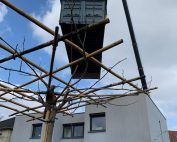 Levage et pose de piscines container avec nos grues de levage à Lille dans les Hauts-de-France